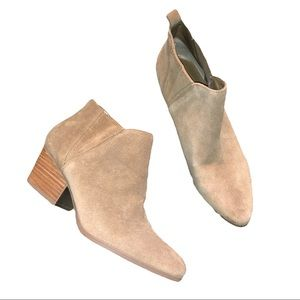 Crown Vintage Shoes - Crown Vintage Suede Booties